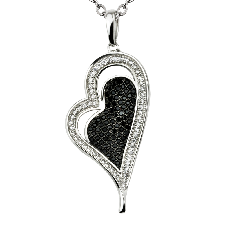 Fancy Heart Shape Pendant