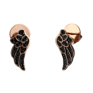 Wing Shape Stud Earring